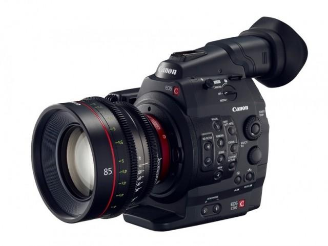 Canon EOS C500 front angled
