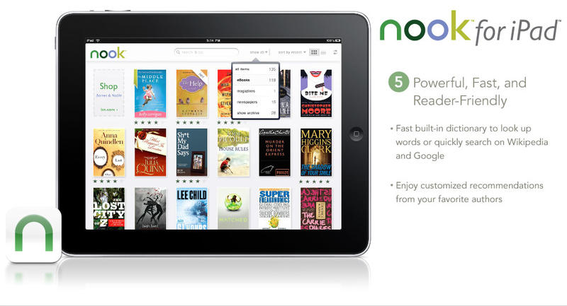 Nook for iPad