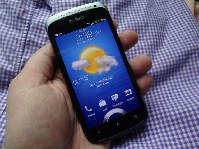 T-Mobile HTC One S - Weather in Hand