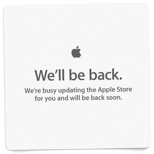 Apple Store is Down - 2012