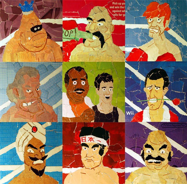 Punch Out Collages