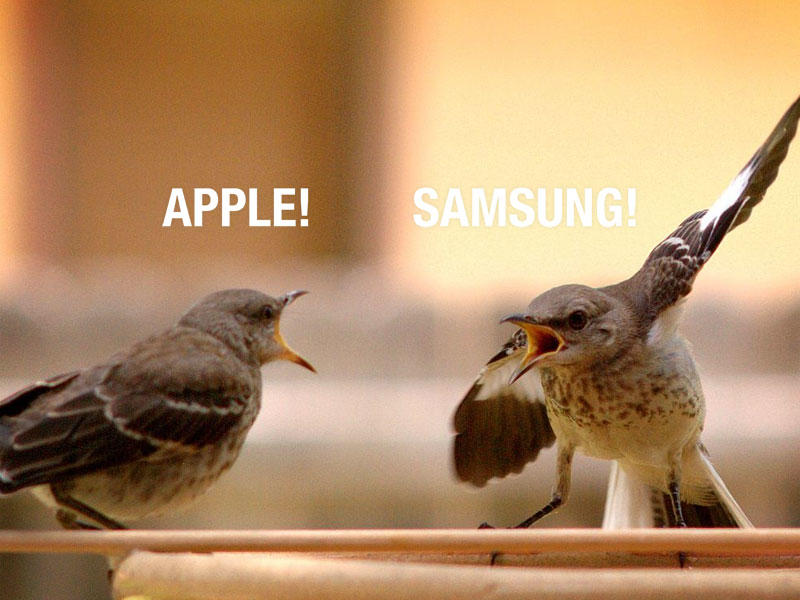 Apple vs. Samsung - Argument - Lawsuit - Fight - 003
