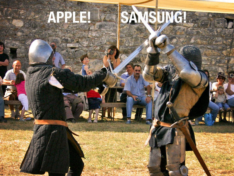 Apple vs. Samsung - Argument - Lawsuit - Fight - 005