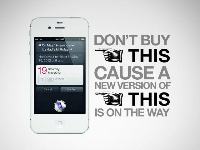 iPhone - Don't Buy - A New One is Coming