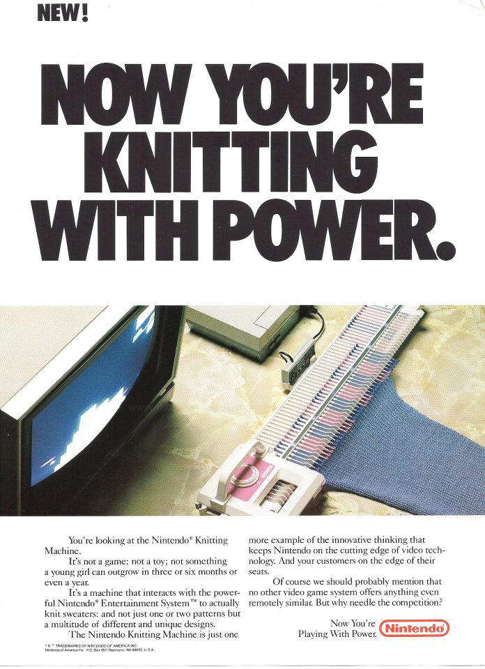 Knitting with Power