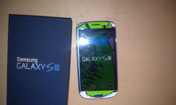 Custom Galaxy S III dragon