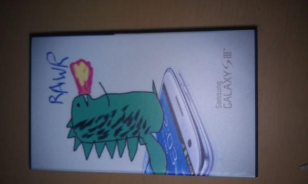 Custom Galaxy S III dragon box