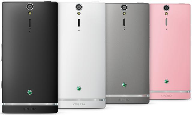 Sony Xperia SL colors