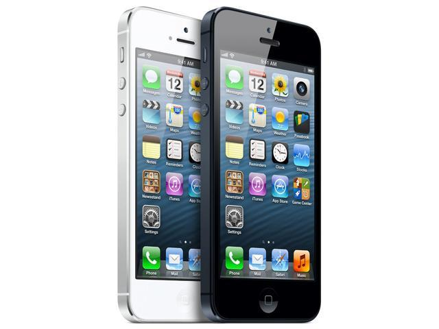 iPhone 5 White and iPhone 5 black
