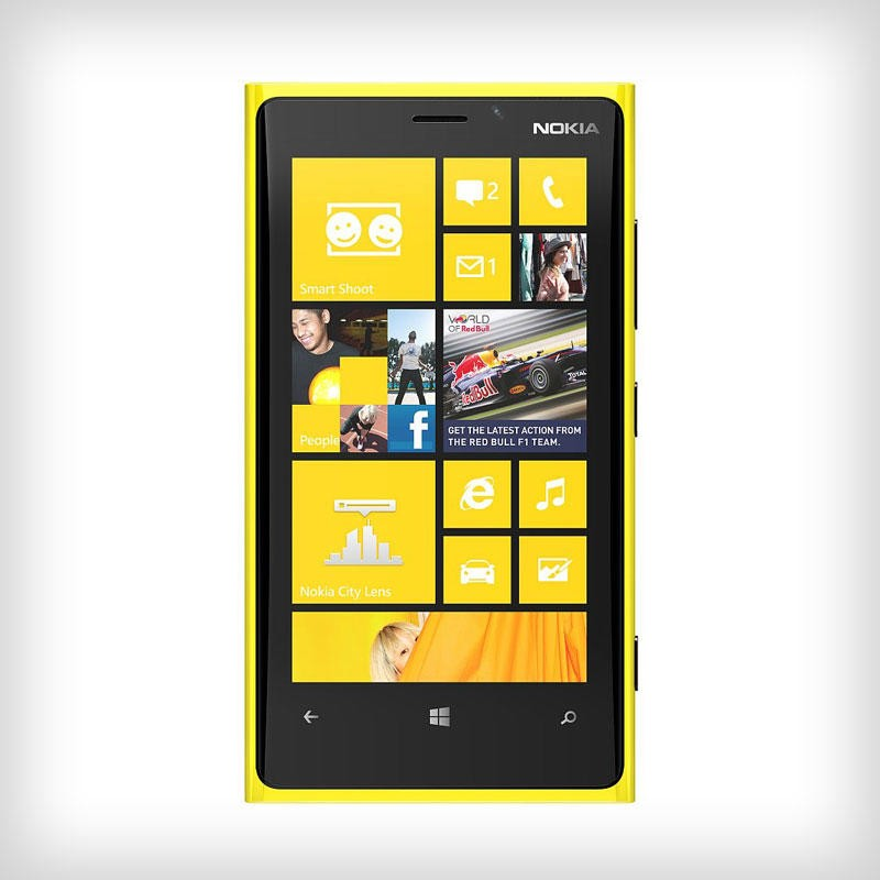 Nokia Lumia 920 - Chart - Comparison