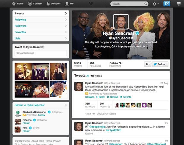 How to get the new Twitter profile layout
