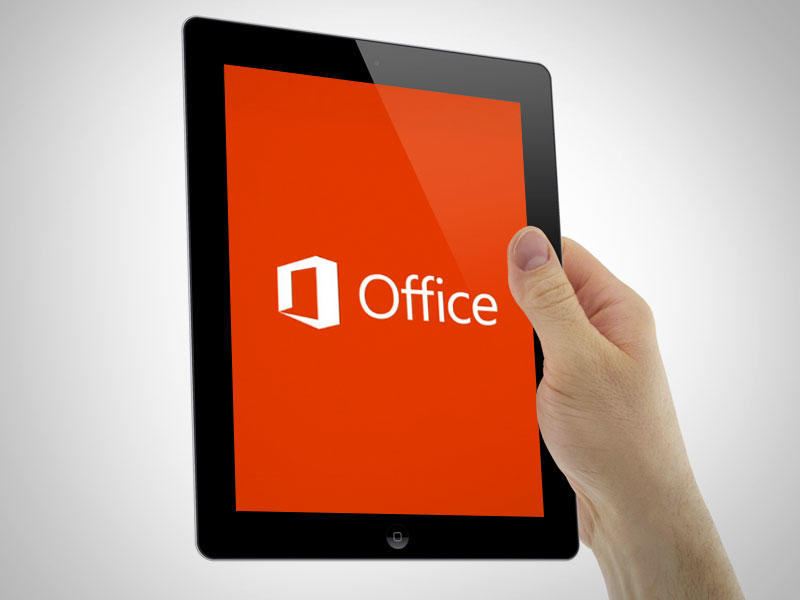 Microsoft Office 13 - iPad in Hand