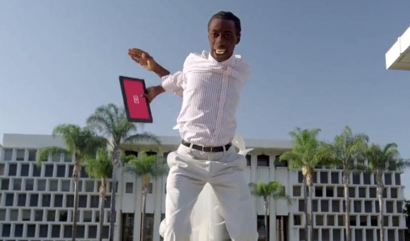 Surface ad dancing
