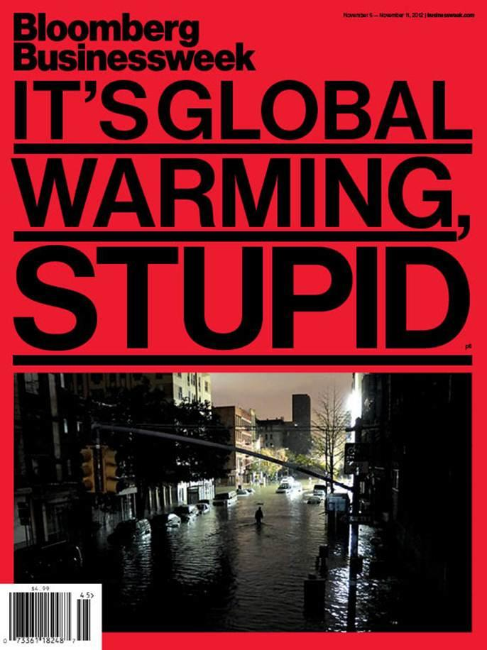 Its global warming stupid