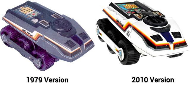 Big Trak comparison