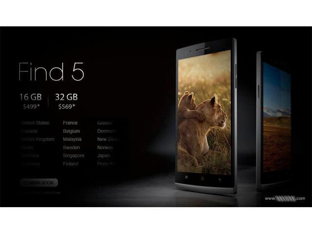 Oppo Find 5 32gb reveal