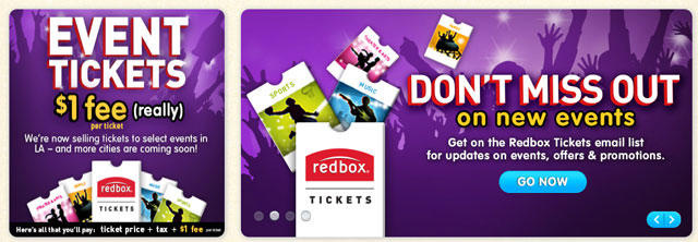 Redbox Tickets
