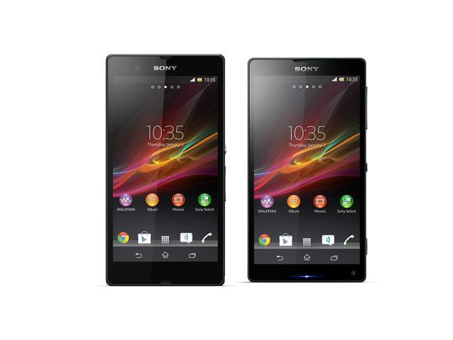 Sony Xperia Z and Xperia ZL leaked images
