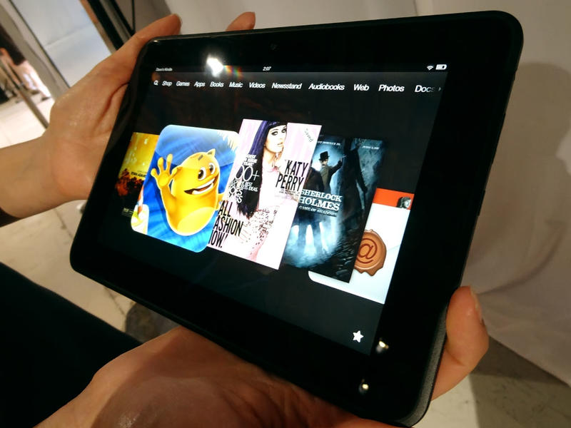 Kindle Fire HD 8.9 in Hands