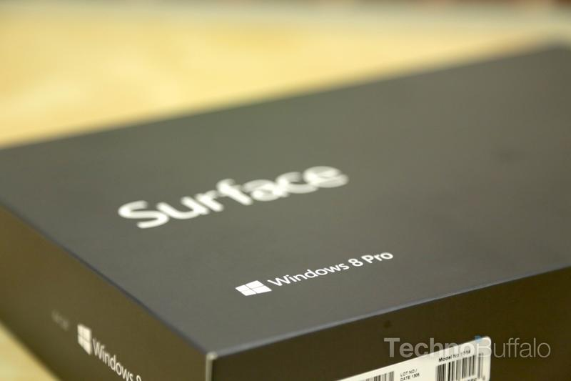 Microsoft Surface Pro Box