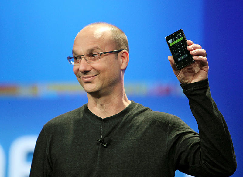 Andy Rubin Google's senior vice president of mobile and digital