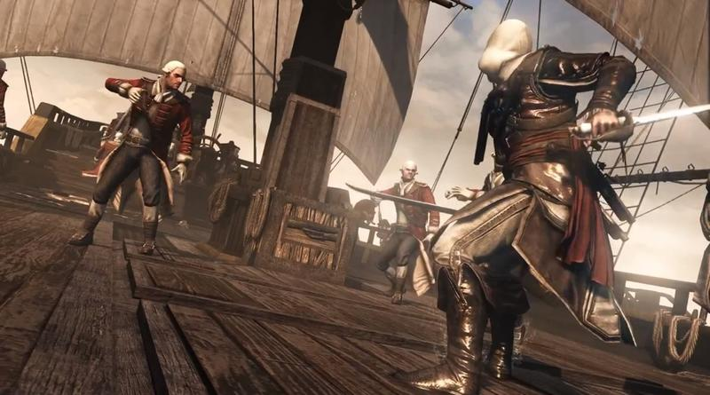 Assassin's Creed IV gameplay trailer reveals combat.