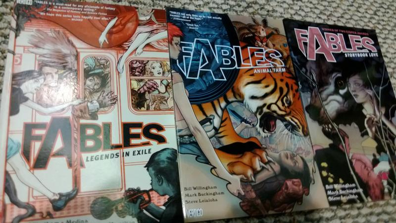 Fables Trade Paperback Covers