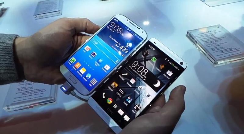 Samsung Galaxy S 4 vs HTC One