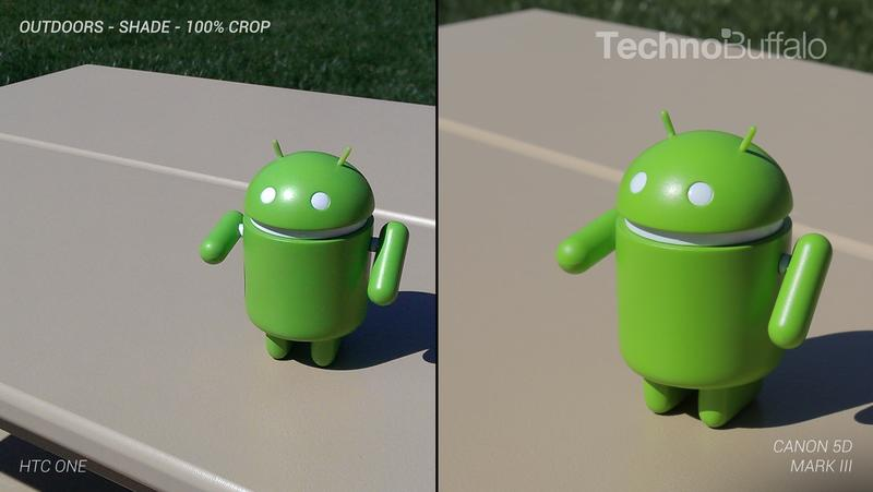 HTC One Camera vs Canon 5D Mark III - Outdoor - Full Crop Resolution
