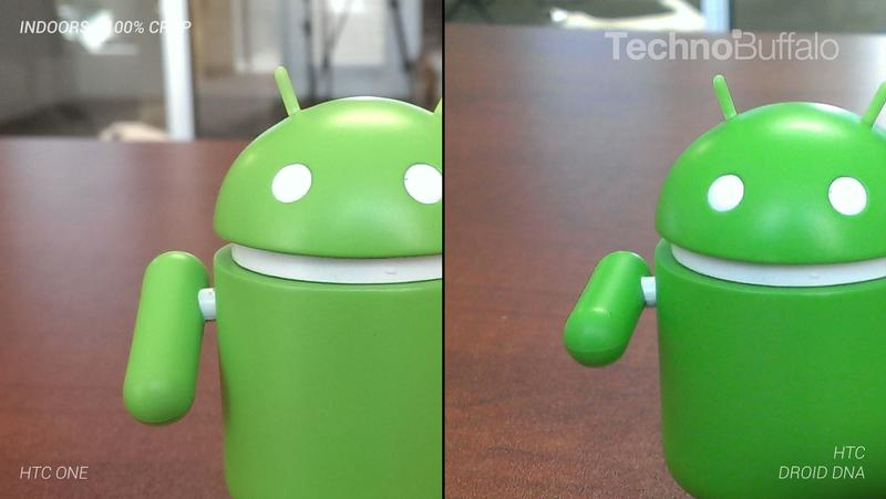 HTC One Camera vs HTC Droid DNA Camera - Indoor - Full Crop Resolution