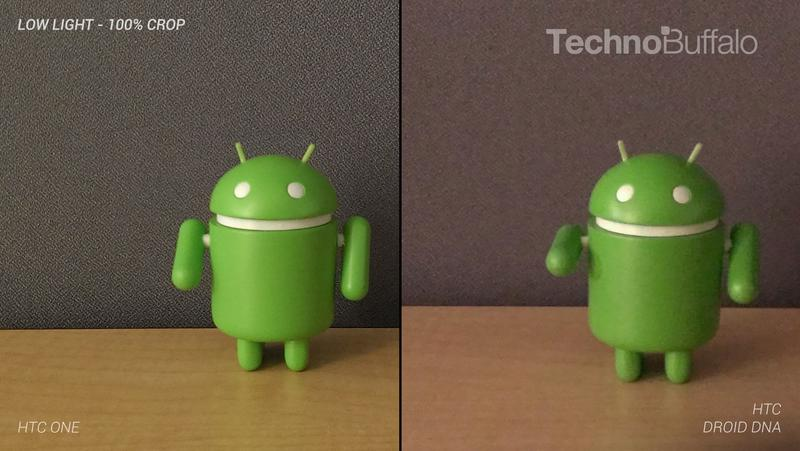 HTC One Camera vs HTC Droid DNA Camera - Indoor in Low Light - Full Crop Resolution