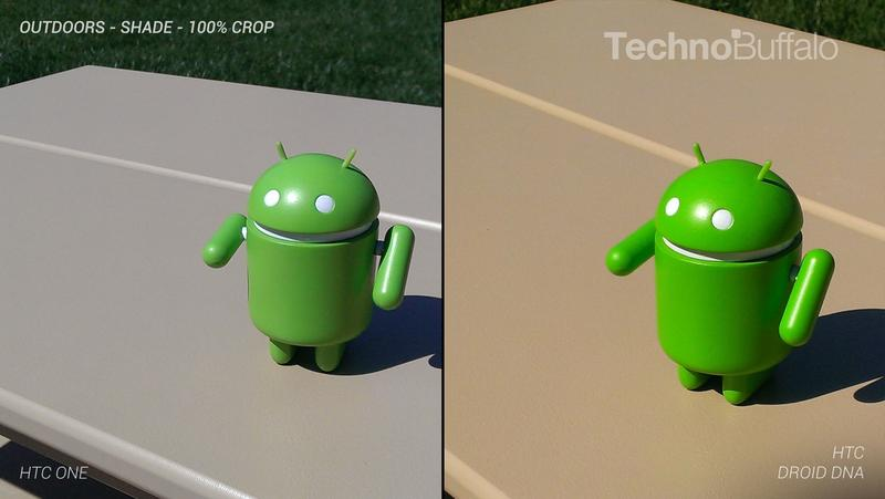 HTC One Camera vs HTC Droid DNA Camera - Outdoor - Full Crop Resolution