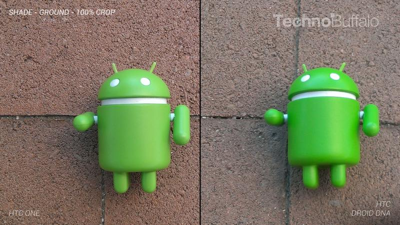HTC One Camera vs HTC Droid DNA Camera - Outdoor on the Ground - Full Crop Resolution