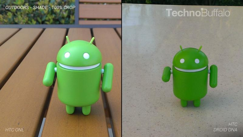 HTC One Camera vs HTC Droid DNA Camera - Outdoor in the Shade - Full Crop Resolution