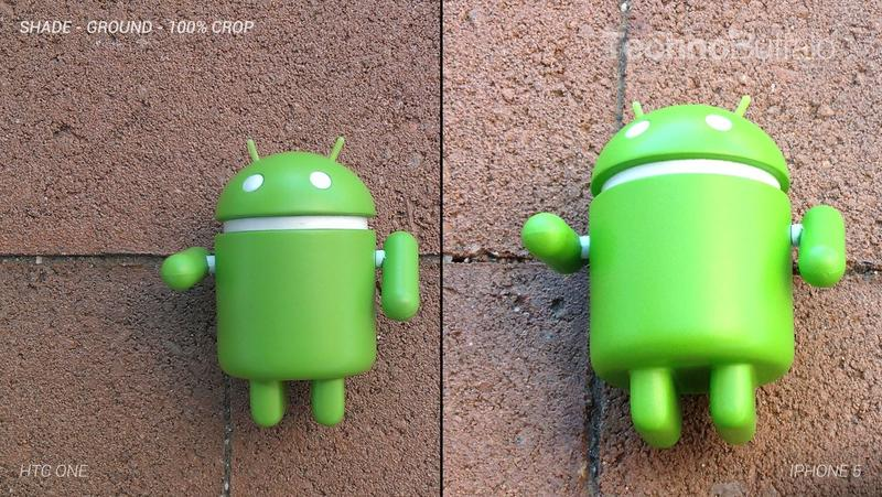 HTC One Camera vs iPhone 5 Camera - Outdoor on the Ground - Full Crop Resolution