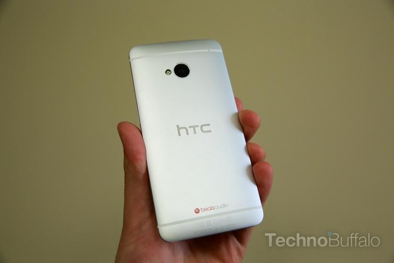 HTC One Review - Back - Phone in Hand