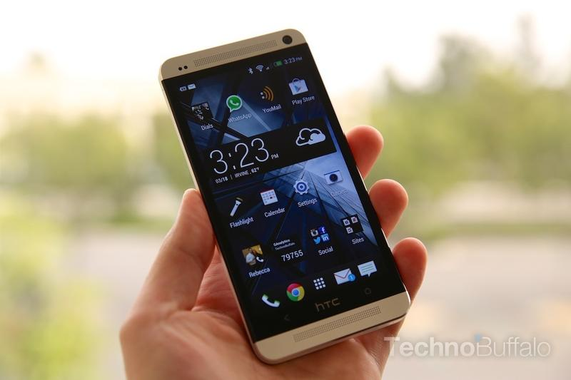HTC One Review - Hardware - Front - Screen