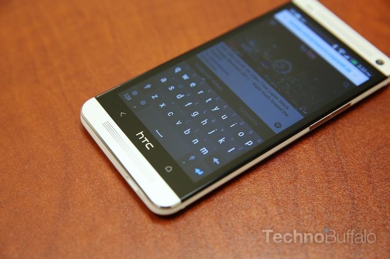 HTC One Review - Performance - Keyboard