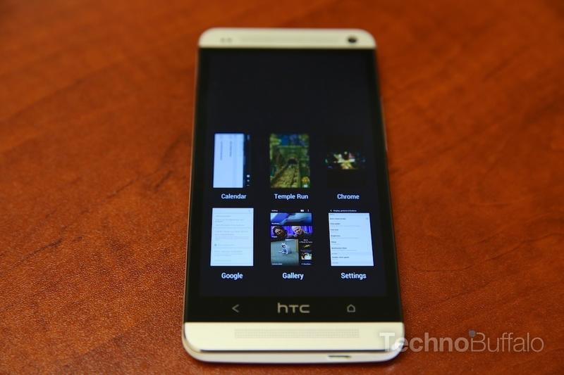 HTC One Review - Software - Multitasking