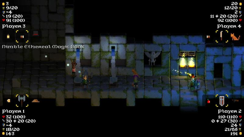Legend of Dungeon - PAX East - Screenshot
