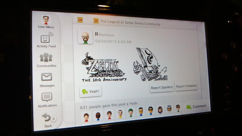 The MiiVerse is Coming to Smartphones and Browsers