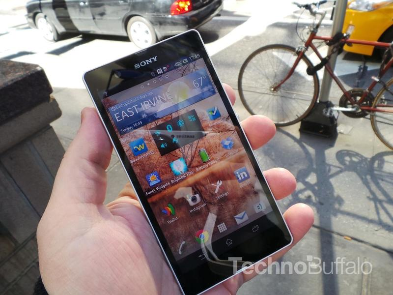 Sony Xperia Z Review - Software - Homescreen - Widgets