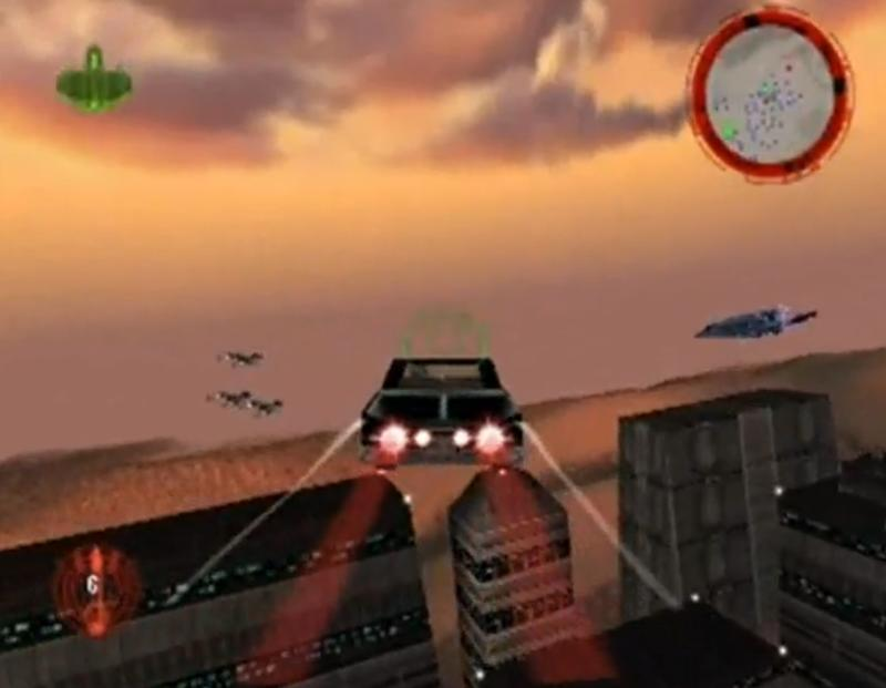 Buick in Star Wars - Rogue Squadron