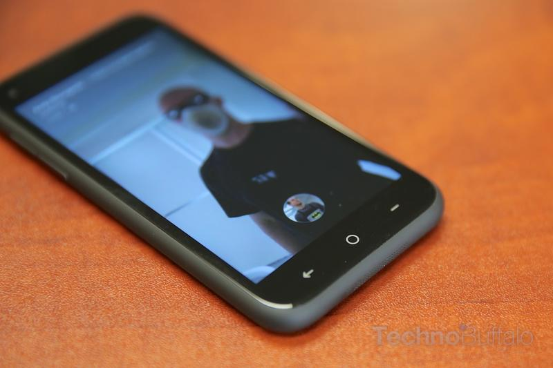 HTC First Review-Buttons