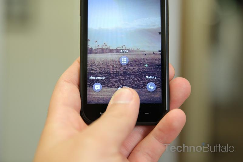 HTC First Review-Quick Settings
