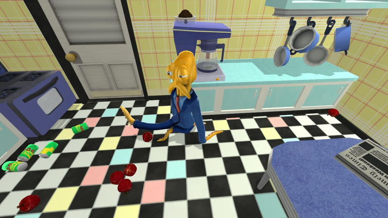 Octodad - A Mishap in the Kitchen