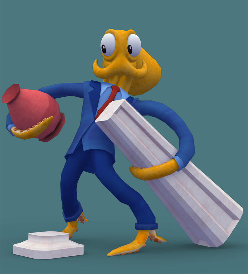 Octodad - Watch Out For the Vase