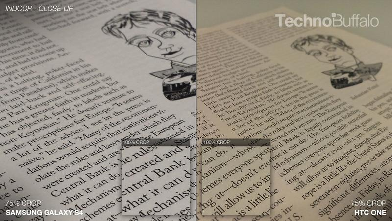 Samsung Galaxy S4 vs HTC One - Camera Comparison - Indoor - Close-Up