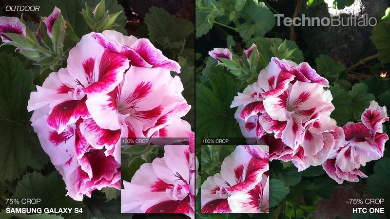 Samsung Galaxy S4 vs HTC One - Camera Comparison - Outdoor - Flowers
