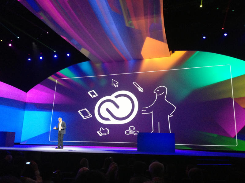 Adobe announcing its intentions to go cloud-only.